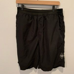 Men's PrAna Elastic Pull On Shorts, Size L